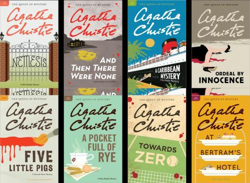 Agatha Christie Mystery Book Collection - Harper Collins