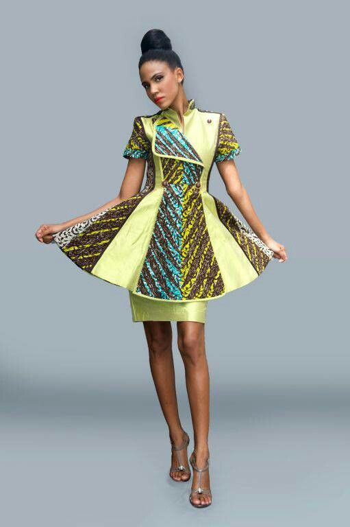 7 Beautiful Ankara Aso Ebi Styles From Pinterest Sharon Abimbola Salu