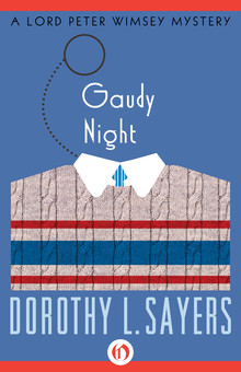 Gaudy Night Book Cover - Dorothy Sayers