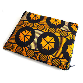 Ankara iPad case / sleeve