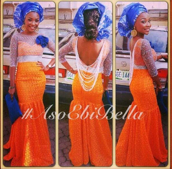 cbeb4053591 10 Beautiful Aso-Ebi Styles to Rock to Weddings Before the Year Ends ...