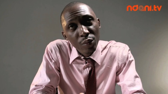 Frank Donga, the Interviewee