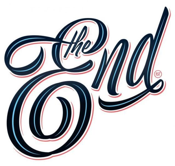 The-End-Beautiful-Typography